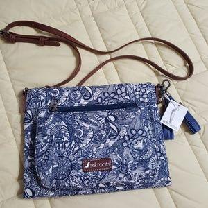 sakroots cross-body purse  🦉